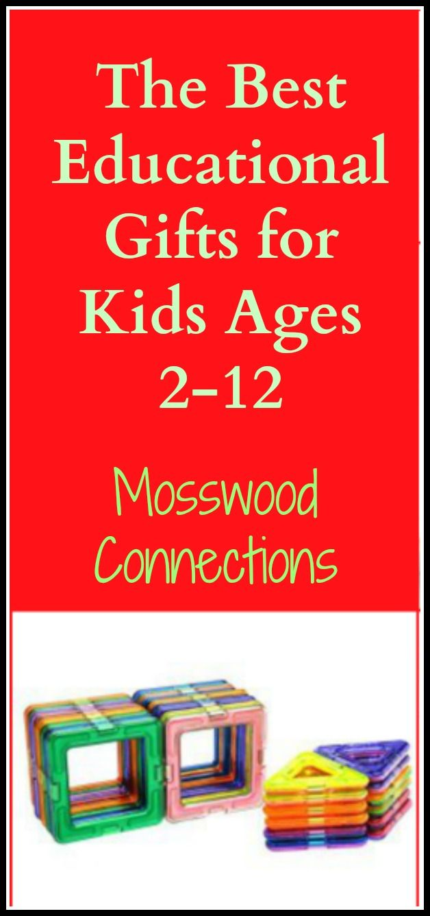 The Best Educational Gifts for Kids Ages 2-12 Board games, gross motor toys, fine motor games, vision games, educational toys and games, reading games and more!