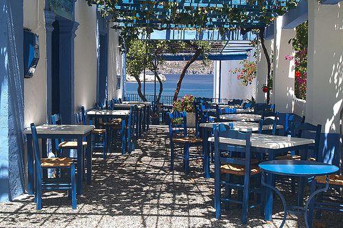 KARPATHOS Taverna a Pigadia