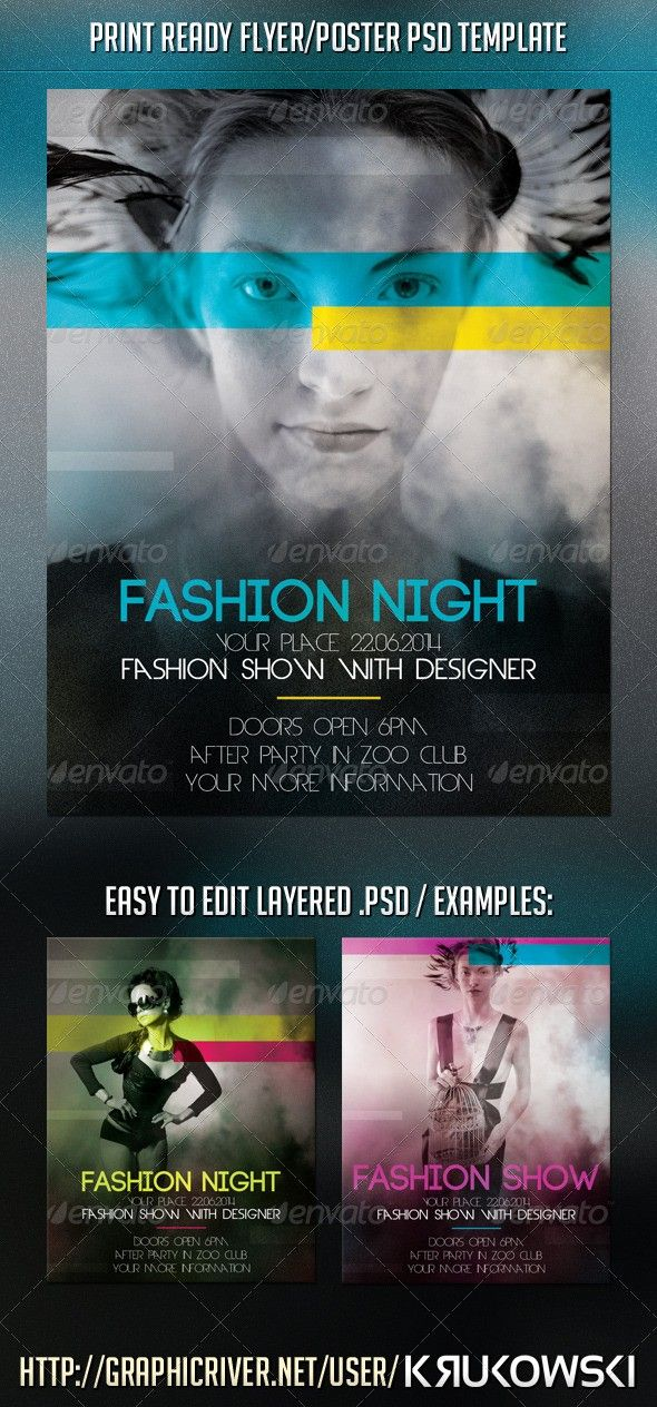 fashion flyer informational flyers pinterest flyer size print