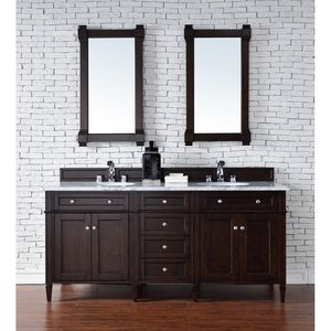 """72"""" $1,495.  Browse our quality selection of bathroom vanities for sale, and enjoy great prices and free shipping on bathroom vanities of all types."""