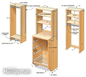Storage: How to Triple Your Closet Storage Space: The Family Handyman