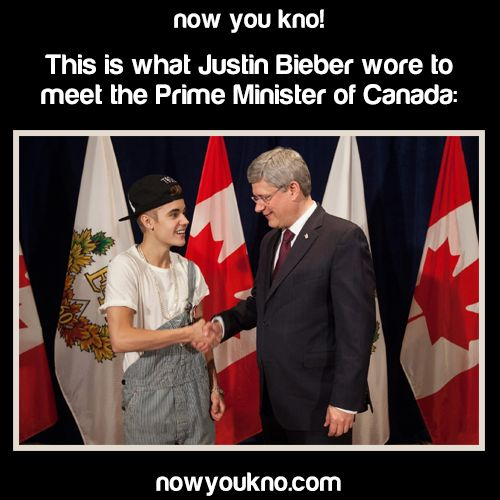 how to meet the prime minister of canada