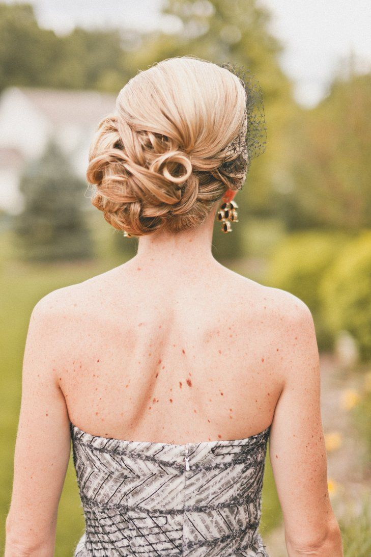 Side Bun Bridal Hairstyle | The Melideos https://www.theknot.com/marketplace/the-melideos-new-york-ny-564381 | J Stephens Salon https://www.theknot.com/marketplace/j-stephens-salon-state-college-pa-503777 | Lovely Bride https://www.theknot.com/marketplace/lovely-bride-new-york-ny-361065