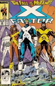 """Marvel's X-Factor (X-Men). Angel - A millionaire heir, capable of flight by means of two feathery wings extending from his back. Beast - A brilliant scientist possessing bestial strength and agility. Cyclops - Former X-Men team leader, with the ability to emit powerful """"optic blasts"""" from his eyes. Jean Grey (Marvel Girl) - The long-time love of Cyclops, possessing telepathic and telekinetic abilities. Iceman - A brash jokester, gifted with hydrokinetic/cryokinetic abilities."""