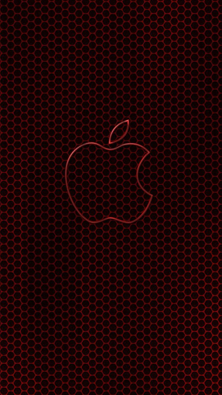 Wallpaper iphone black red - Apple Wallpapers For Iphone 6 66 Apple Love Pinterest Apple Wallpaper And Wallpaper
