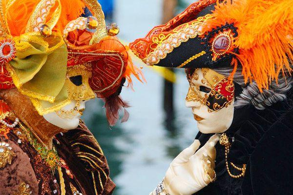 Венецианский карнавал и венецианские маски - варианты, фото