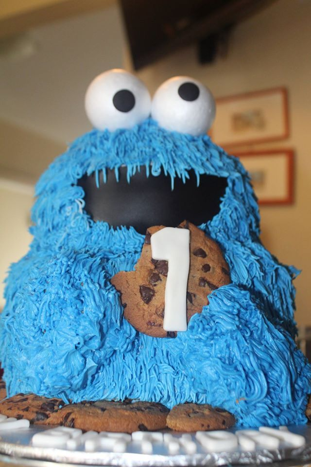 Giant Cookie Monster