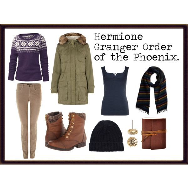 """Hermione Granger, order of the phoenix."" by jefnier on Polyvore"