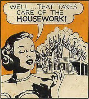 """Taking """"care""""  of chores!"""