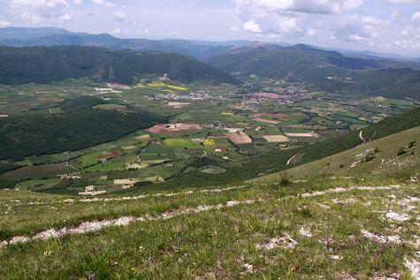 Monti Sibillini - paesaggio