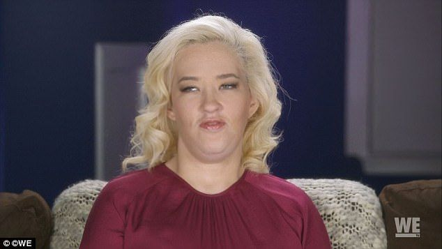 Rough: Shannon June revealed she struggled with recovering from the multiple weight loss surgeries during a sneak peek episode ahead of the season two premiere of her family's show, Mama June: From Not to Hot, on Friday night