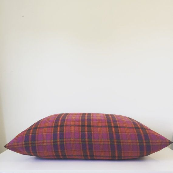 Plaid Dog bed cover Check Dog bed cover Girl by PlushPupdogbeds