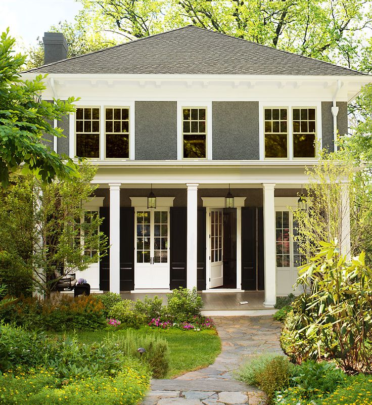 Traditional Home Exteriors: Best 25+ Foursquare House Ideas On Pinterest