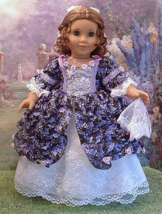 Midnight Garden 1850's Civil War Era Gown by MyGirlClothingCoHeir, $80.00