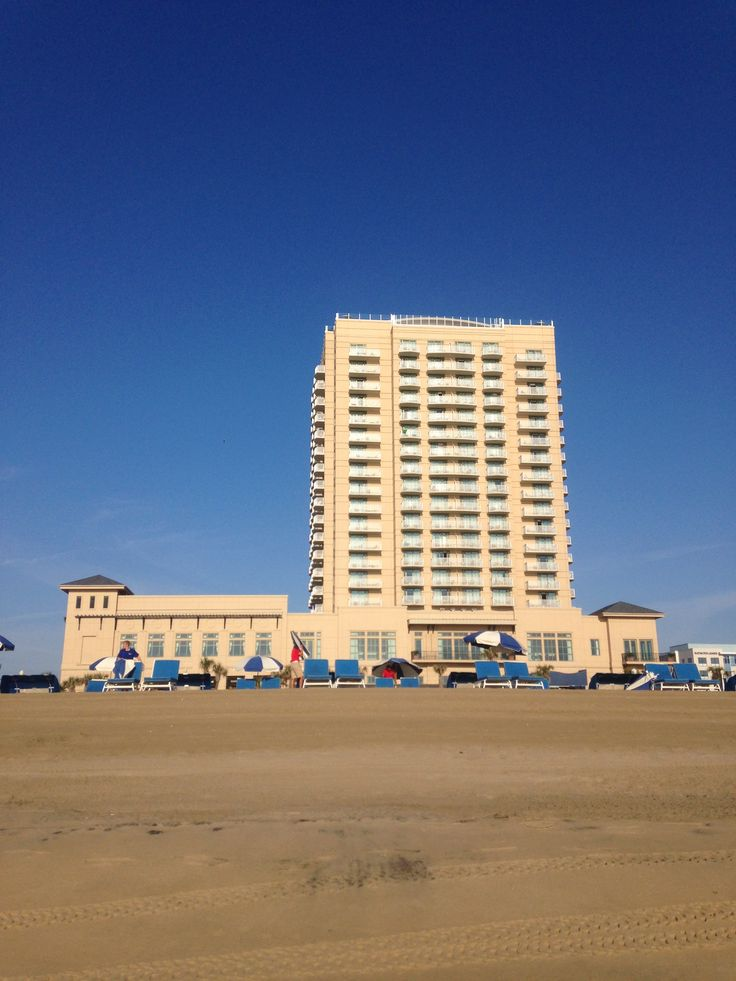 The Hilton Hotel, Virginia Beach Oceanfront.