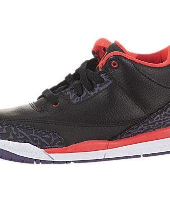 Nike Kids Jordan 3 Retro (PS) Basketball Shoes