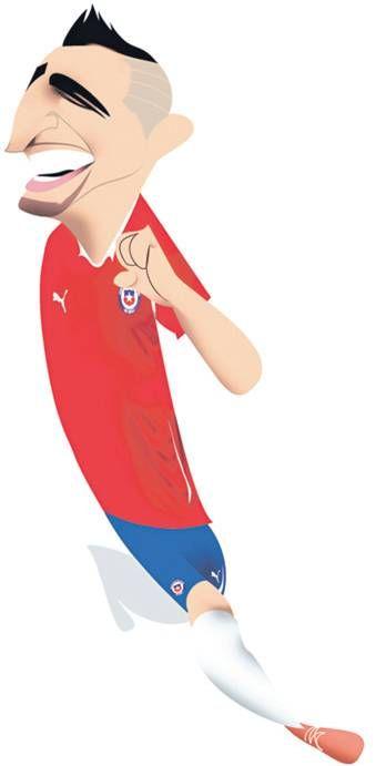 Arturo Vidal. #Chile