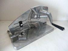 Design Metall Handkurbel Brotmaschine RITTER INOX Brotschneidemaschine (B626)xx