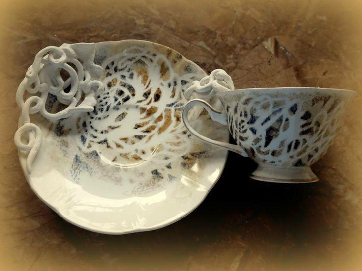 LACEFORMIS functional porcelain art