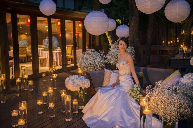 THE GARDEN PLACE SOSHUEN(ザ ガーデンプレイス ソシュウエン)|結婚式場写真「ディナータイムのナイトパーティーも人気」 【みんなのウェディング】