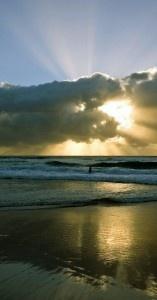 Morning Sunrise. Sunshine Coast, Queensland. Australia