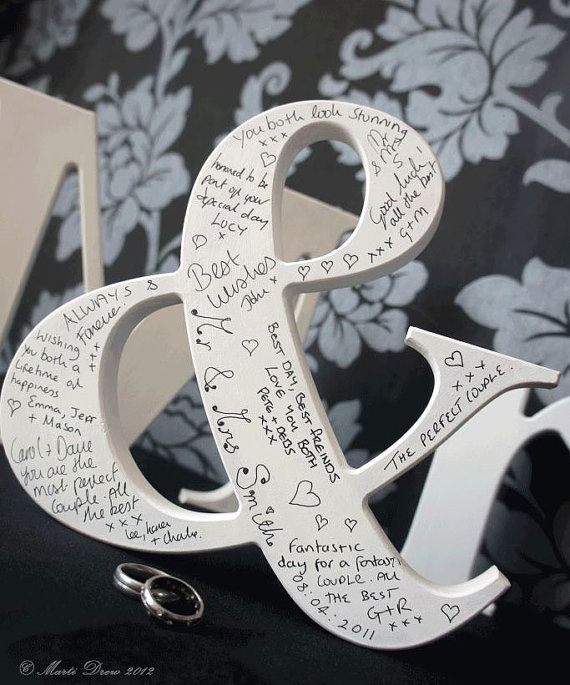 Wedding Letters / Wedding sign / Wedding door LettersFromTheHeartx