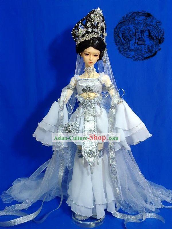 中国古代王女の衣装とかつらと一式ヘアアクセサリー