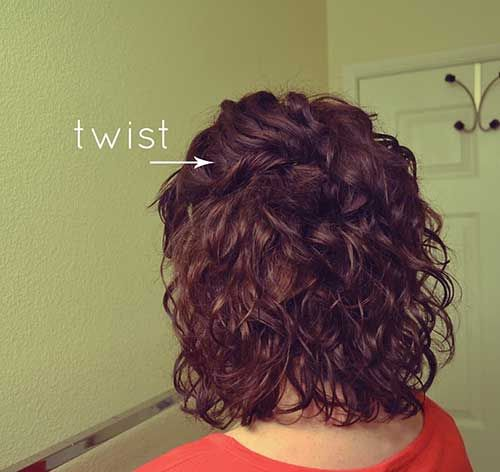 Cutest Thick Curly Short Hairstyles 2015