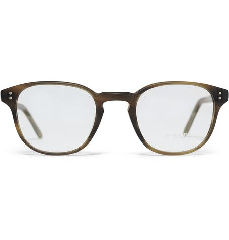 @Oliver Dudley Dudley Dudley Peoples Round-Frame Glasses | Men's Style