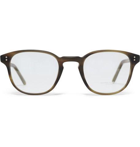 @Oliver Peoples Round-Frame Glasses | Men's Style