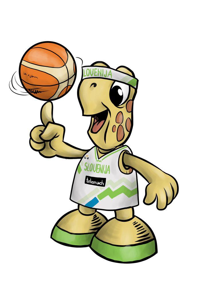 Trdonja supporting slovenian #basketball team!