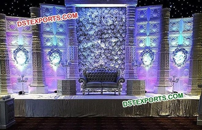 #Indian #Design #Wedding #Stage #Decoration #Dstexports