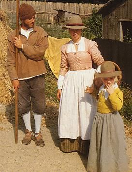 Plymouth Colony actors clothes | The following images are from the Plimoth Plantation. Interpreters ...
