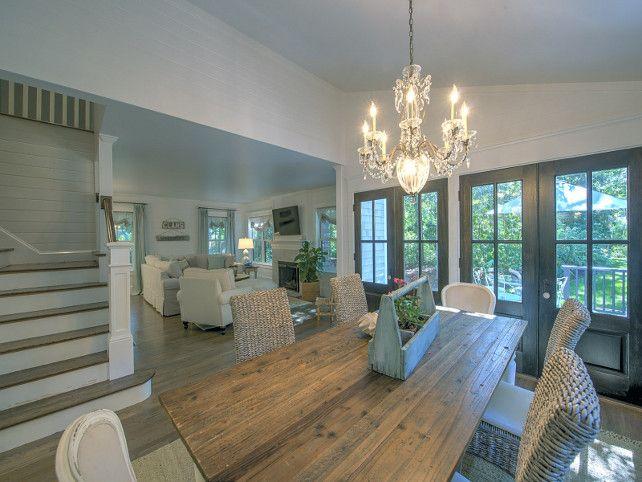 Shingle Cape Cod Home Dining Room Decor