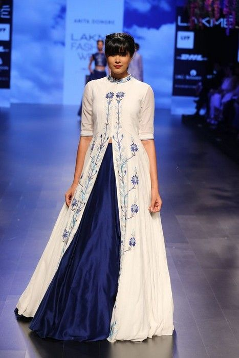 Indian Fashion glamhere.com Anita Dongre at Lakme Fashion Week