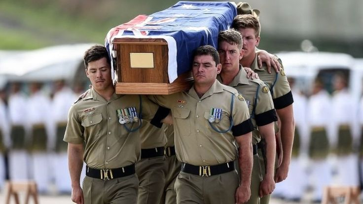 Australian war remains repatriated from Malaysia and Singapore.