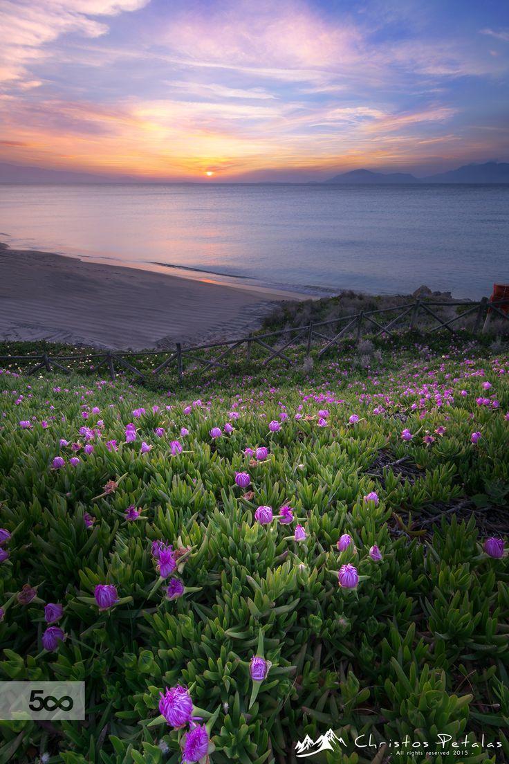 April sunset by Christos Petalas on 500px