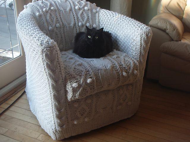 Aran Armchair Cover for an Ikea Tullsta chair