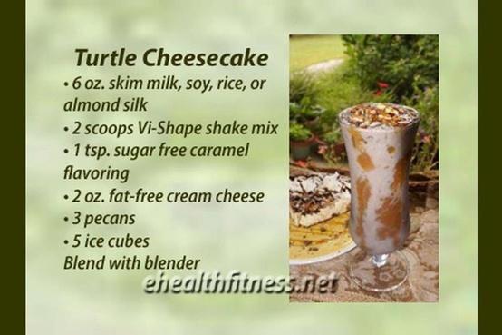 Turtle Cheesecake Visalus Recipe