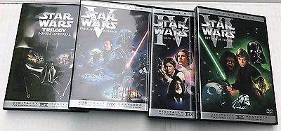 Star Wars Trilogy DVD Box Set Widescreen Episodes 4,5 &6 plus Bonus Disc