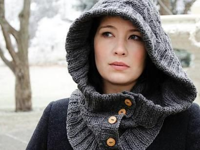 Through The Woods Hood Kit - Knitting Kit includes Yarn & Pattern!