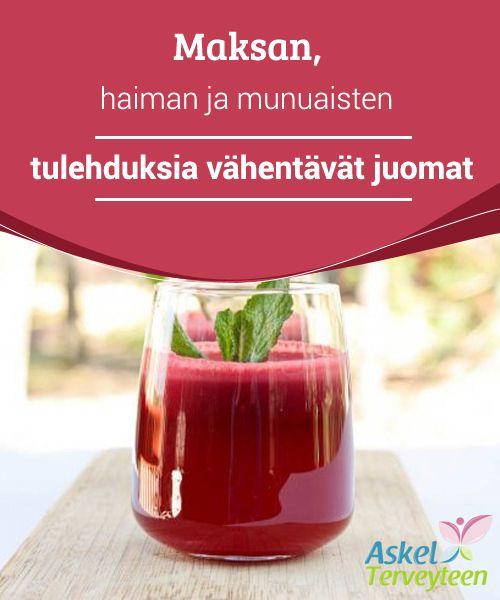 #Maksan, #haiman ja munuaisten #tulehduksia vähentävät juomat  Koskaan ei ole liian myöhäistä lisätä näitä juomia päivittäiseen ruokavalioosi, vähentääksesi tulehduksia ja puhdistaaksesi sisäelimesi myrkyistä, samalla kohentaen yleistä terveydentilaasi. #Reseptit