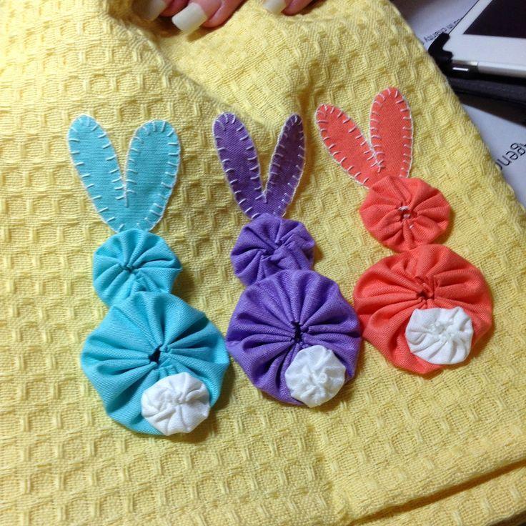 Bunny Tails yo yo cuteness