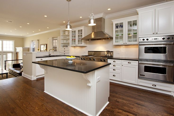 Best White Kitchen Re Do Benjamin Moore Simply White Absolute 400 x 300