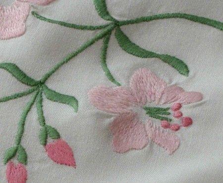 Starožitné Obliečky EM je Heart- klasická francúzska Obliečky monogramom Sheet Set