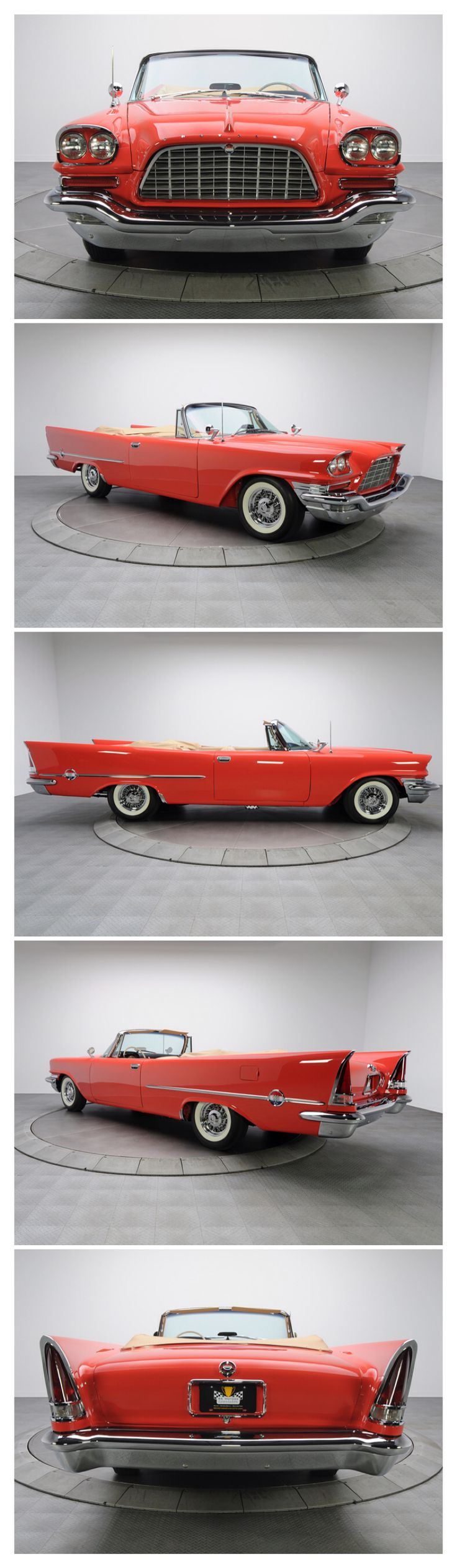 The exciting brand new street legal cruser sport elec car amp golf cart - 1957 Chrysler Hemi Convertible With An Automatic Transmission Ram Induction Carburation And A Hemi Engine