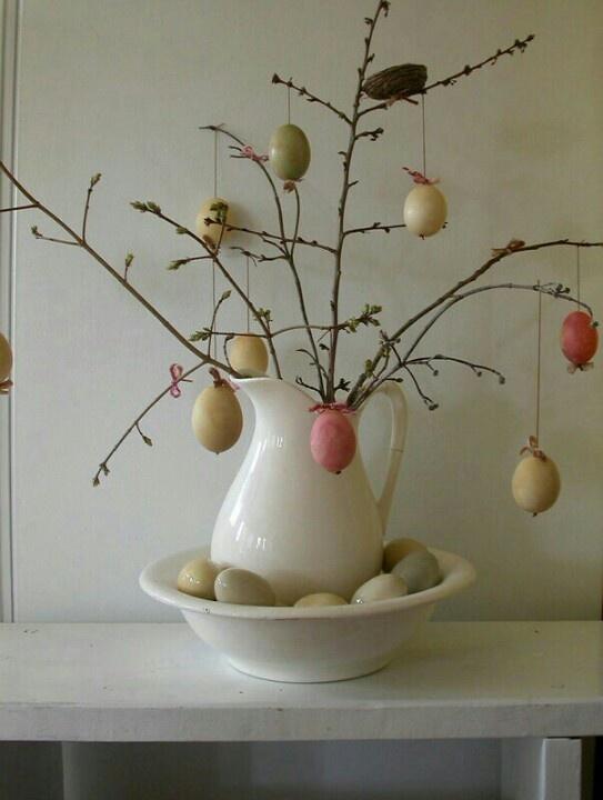 Shabby Easter Egg Tree