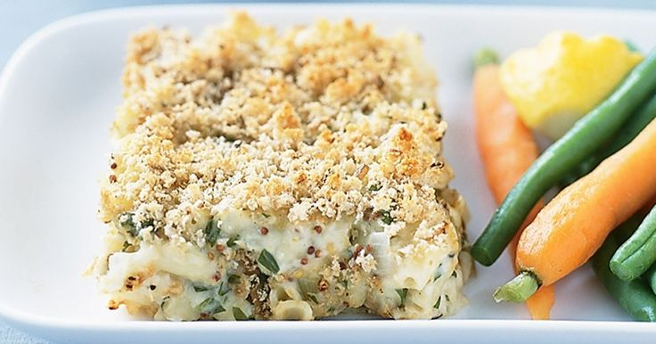 This tuna bake with crunchy topping is a family favourite on cold winter nights.