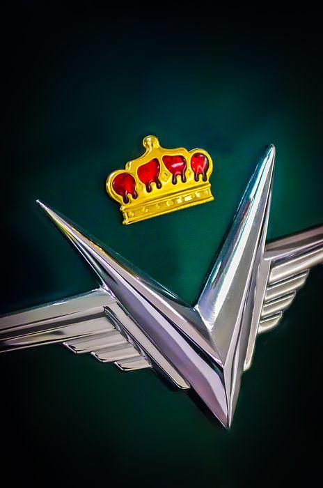 Chrysler Images by Jill Reger - Images of Chryslers - 1954 Chrysler Imperial Sedan Hood Ornament