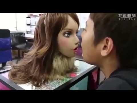 Bad breath detector: robot beauty V.S. robot dog
